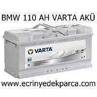 BMW 110 AH VARTA AKÜ