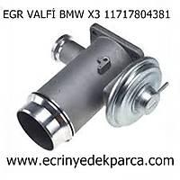 EGR VALFÝ BMW X3 11717804381