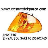 BMW E46 SİNYAL SOL SARI 63136902765