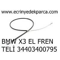 BMW X3 EL FREN TELÝ 34403400795