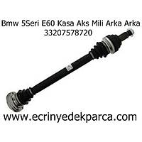 Bmw 5Seri E60 Kasa Aks Mili Arka Arka 33207578720