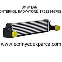 BMW E46 İNTERKOL RADYATÖRÜ 17512246795
