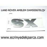 LAND ROVER FREELANDER1 AMBLEM DAM500670LQV