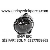 Bmw 3Seri E90 Kasa Sol Sis Farý M