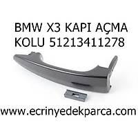 BMW X3 KAPI AÇMA KOLU 51213411278
