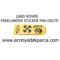 LAND ROVER FREELANDER STÝCKER PAK100270