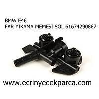 Bmw 3Seri E46 Kasa Far Yýkama Fýskiye Memesi Sol