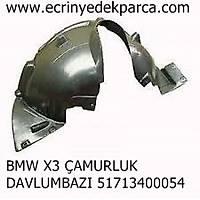 BMW X3 ÇAMURLUK DAVLUMBAZI 51713400054