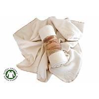 %100 ORGANİK PAMUK Fleece Battaniye