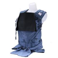 Babyroo Mei Tai Organik Ayarlanabilir Half Buckle Kanguru - Mavi