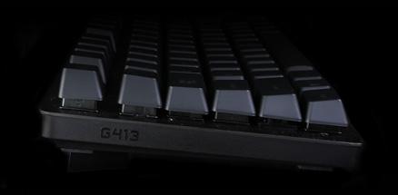 Enlarged closeup of Romer G mechanical switch