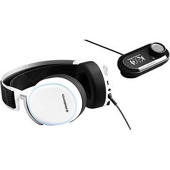 SteelSeries Arctis Pro + GameDAC RGB USB Hi-Res Oyuncu Kulaklýðý - Beyaz