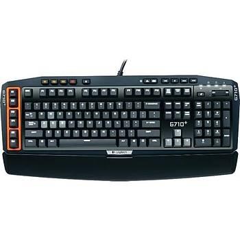 Logitech G710+ Mekanik Oyun Klavyesi (Ýngilizce, Q -TR Stickerlý)