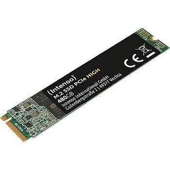 Intenso Hýgh 480GB 1700/800MB/S 4mm Nvme Pcýe M.2 SSD 3834450 3d-Nand