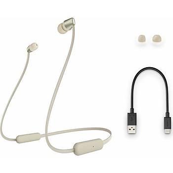 Sony WI-C310 Kablosuz Kulak İçi Bluetooth Kulaklık Gold