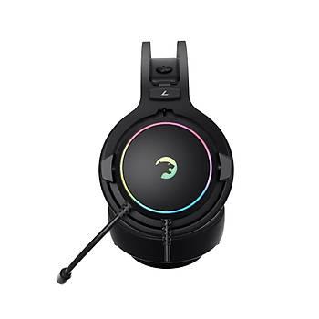 Gamepower Warlord Siyah 7.1 RGB Gaming Kulaklýk