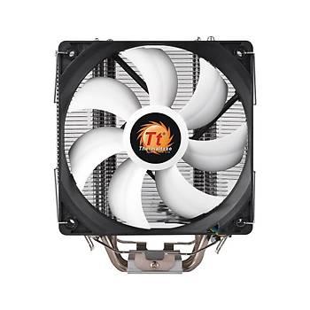 Thermaltake Contac Silent 12cm AM4, Ýntel LGA 1151 Uyumlu CPU Soðutucu CL-P039-AL12BL-A