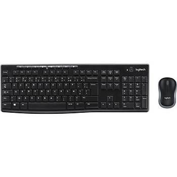 Logitech MK270 Kablosuz Klavye & Mouse Seti-Siyah