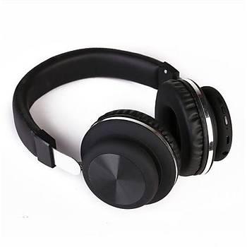 GlamShine GS-H6 Kablosuz Kulaküstü Kulaklýk-Siyah