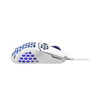 Cooler Master MM711 RGB Ultra Hafif 60gr Parlak Beyaz Profesyonel Oyuncu Faresi