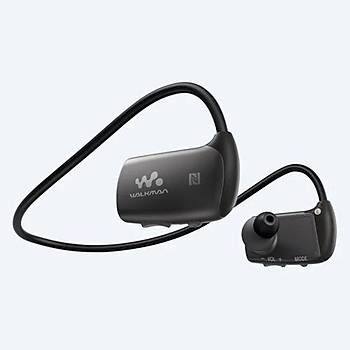 Sony NWWS413B.CEW MP3 Player Siyah Kulak içi kulaklýk