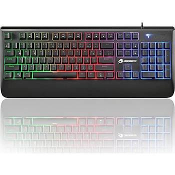 GameBooster G4 Pulsefire Rainbow Aydýnlatmalý Semi-Mechanical Klavye (GB-G4)