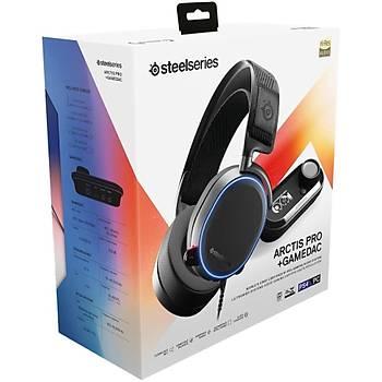 SteelSeries Arctis Pro + GameDAC Hi-Res Oyuncu Kulaklýðý-Siyah