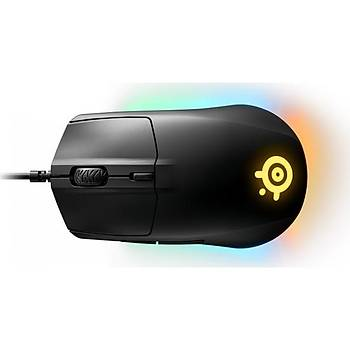 SteelSeries Rival 3 RGB Oyuncu Mouse + Qck Oyun Mousepad
