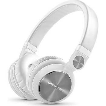 EnergySistem DJ2 Mikrofonlu Kulaküstü  Kulaklýk Beyaz