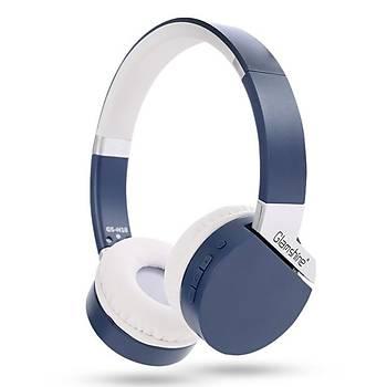 GlamShine GS-H10 Kablosuz Kulaküstü Kulaklık-Mavi