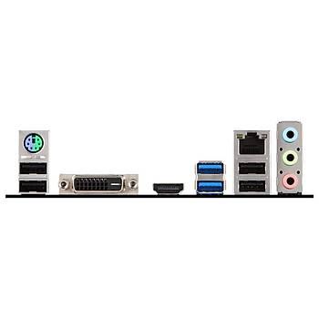 MSI H310-A PRO 2666MHz(OC) DDR4 Soket 1151 HDMI DVI ATX Anakart