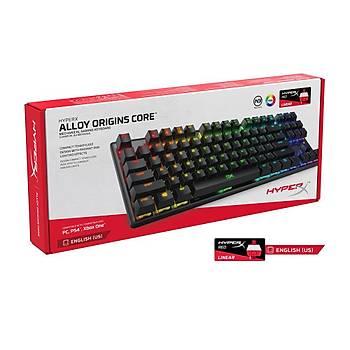 HyperX Alloy Origins Core RGB US Klavye