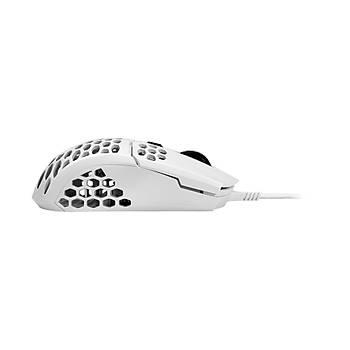 MM710 Ultra Hafif 53gr Parlak Beyaz Profesyonel Oyuncu Faresi
