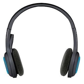 Logitech H600 Kablosuz Kulaklýk-Siyah
