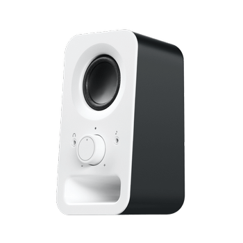 Logitech Z150 Kar Beyazı Stereo Hoparlör - PC Tablet ve Telefon Uyumlu