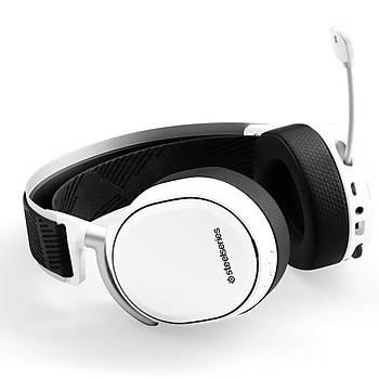 SteelSeries Arctis Pro Hi-Res Wireless Kablosuz Oyuncu Kulaklýðý - Beyaz