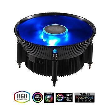 CM I71C 120MM RGB LED FANLI INTEL LGA 1156 / 1155 / 1151 / 1150 UYUMLU CPU SOÐUTUCUSU