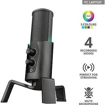Trust GXT258 Fyru 4IN1 Dijital Streaming Led Mikrofon 23465