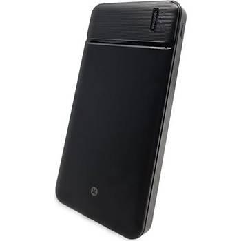 Dexim M35 10.000MAH Powerbank-Siyah DCA0032-B