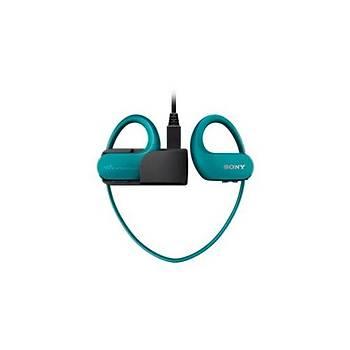 Sony NWWS413L.CEW MP3 Player Mavi Kulak Ýçi Kulaklýk