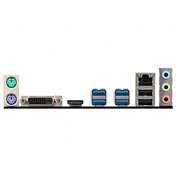 MSI B450M-A PRO MAX 4133MHz(OC) DDR4 Soket AM4 M.2 HDMI DVI mATX Anakart