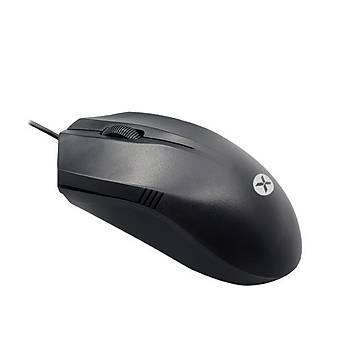 Dexim M007 Kablolu Mouse-Siyah