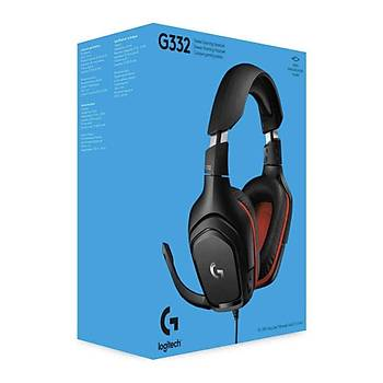 Logitech G332 Stereo Oyuncu Kulaklýðý