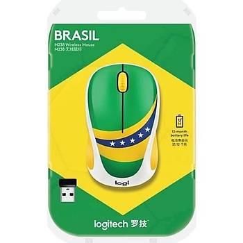 Logitech M238 Fan Collection - Brasil Wireless Mouse