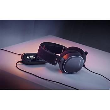 SteelSeries Arctis Pro + GameDAC Hi-Res Oyuncu Kulaklığı-Siyah