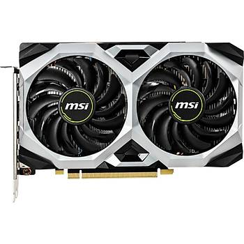 MSI Nvidia GeForce GTX 1660 Ventus XS 6G OC 6GB 192Bit GDDR5 DX(12) PCI-E 3.0 Ekran Kartý