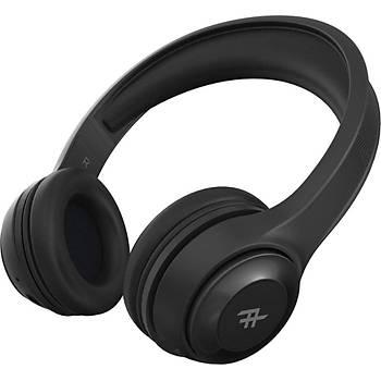 iFrogz Aurora Mikrofonlu Kulak Üstü Kablosuz Bluetooth + Kablolu Kulaklýk - Siyah