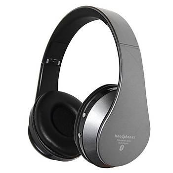GlamShine EB203 Kablosuz Kulaküstü Kulaklýk-Gri