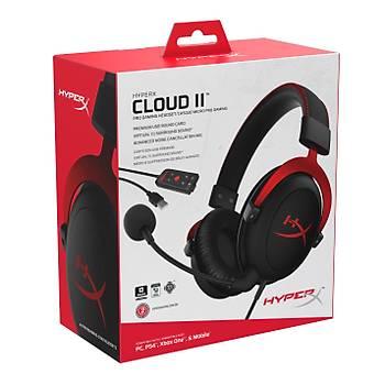 HyperX Cloud II 2 7.1 Gamer Kulaklık KIRMIZI