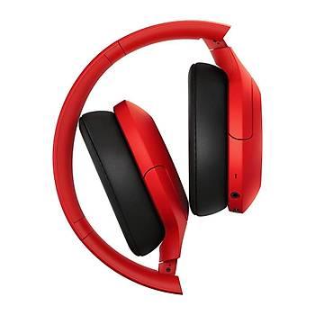 Sony WHH910NR Gürültü Önleyici Bluetooth Kulak Üstü Kulaklýk - Kýrmýzý